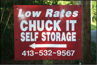 Chuck It Self Storage Is Located In South Hadley, MA, Near The